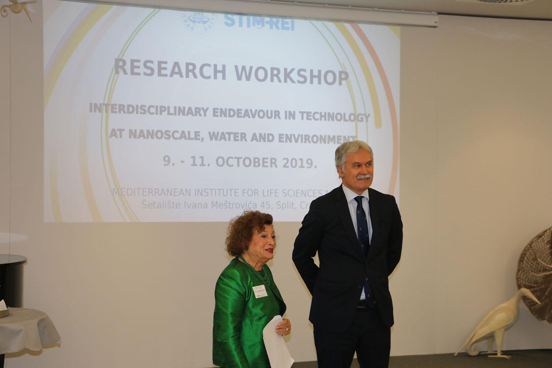 """Započela istraživačka radionica """"Interdisciplinarni poduhvati u području nanotehnologije, vode i okoliša"""" u okviru projekta STIM-REI"""